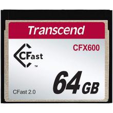 Transcend 64GB CFX600 CFast 2.0