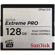 Sandisck CFast Extreme Pro 128GB 525MP/s