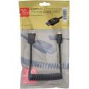 Cable Atomos 4 K60 C3 Full Hdmi Full Mini Hdmi 30 cm,