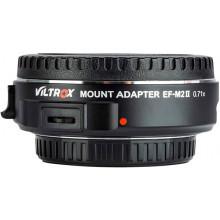 VILTROX EF-M2 II Canon a MFT