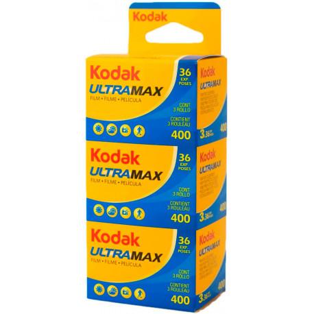 Kodak Ultramax 400 135-36 Tripack