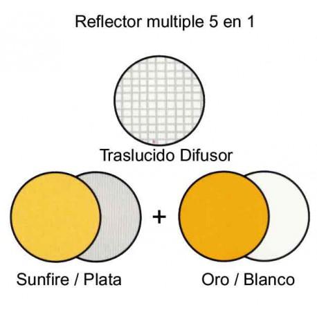 Reflector plegable Lastolite 5 en 1 de 95cm
