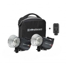 Kit 2 Flash Elinchron ELC PRO HD 1000/1000 TO GO