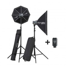 KIT ELINCHROM D-LITE RX ONE/ONE Softbox To Go