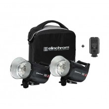 Kit 2 Flash Elinchron ELC PRO HD 500 TO GO