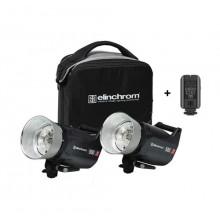 Kit 2 Flash Elinchron ELC PRO HD 500 TO GO