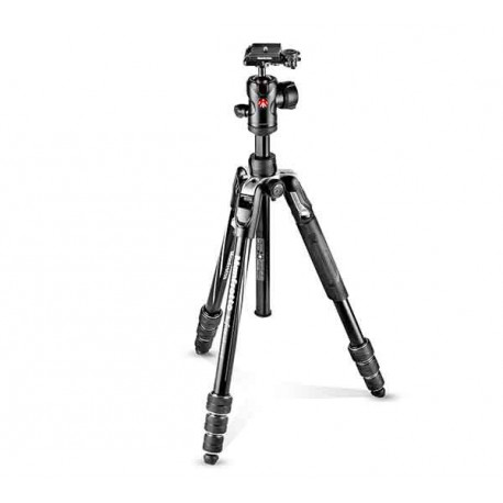 Manfrotto BEFREE 4 sec con rotula Alu. Gris