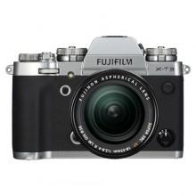 Fujifilm X-T3 Silver + XF 18-55f2,8-4