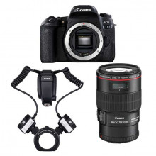 Kit Canon 77D dental100 L-MT