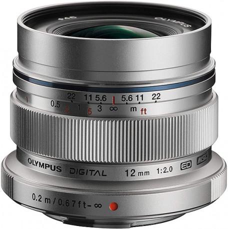 M.ZUIKO 12mm f2 ED Silver