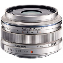 M.ZUIKO 17mm f1,8 Silver