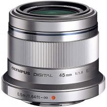 M.ZUIKO 45mm f1,8 Silver + Cashback 50€