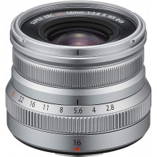 Fuji XF-16mm f2,8 Silver