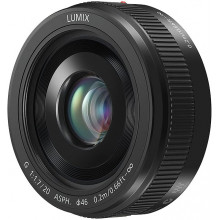 Lumix G 20mm f1,7II ASF