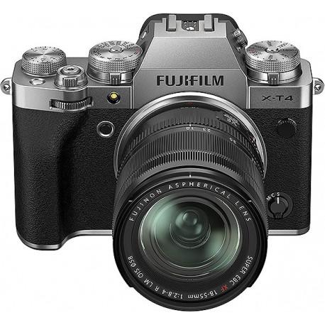 Fuji X-T4 Silver + XF 18-55f2,8-4 R