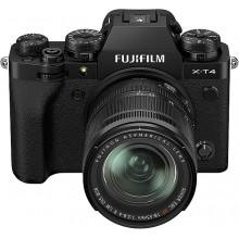 Fuji X-T4 Black + XF 18-55f2,8-4 R
