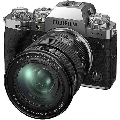 Fuji X-T4 Silver + XF16-80f4 WR