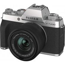 Fuji X-T200 Silver +XC15-45 PZ