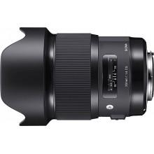 Sigma ART 20 mm f1,4 DG HSM